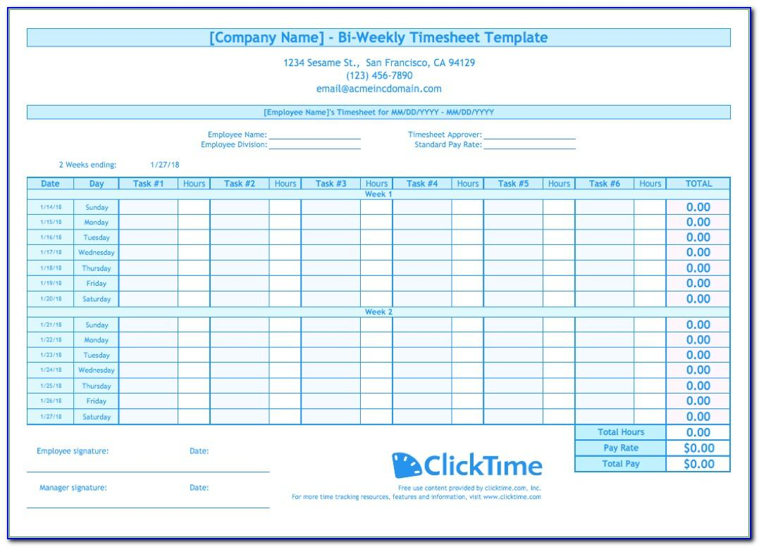 Simple Household Budget Template Excel