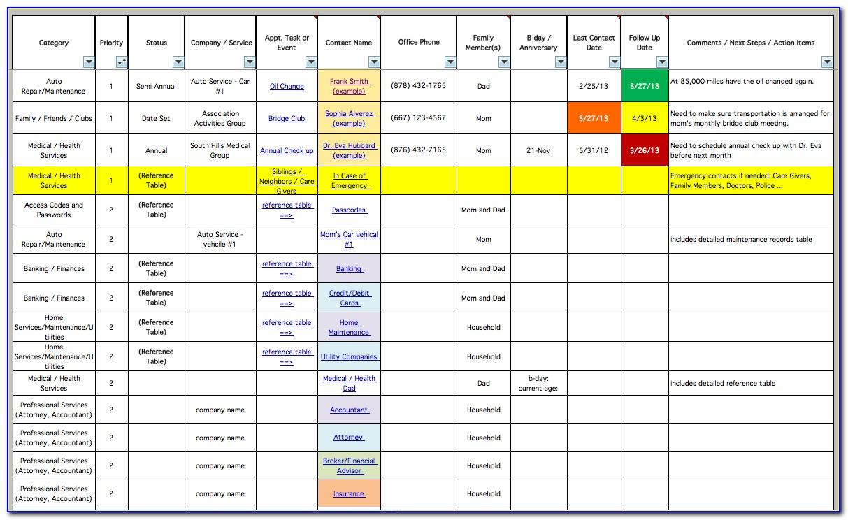 Simple Project Plan Template Excel 2010