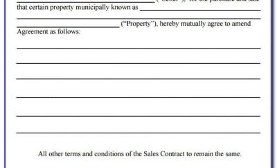 Simple Sale Agreement Form
