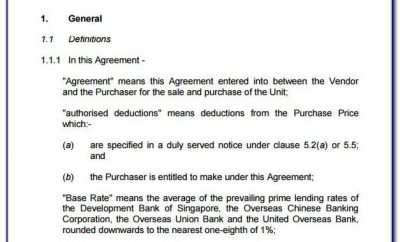 Simple Sale Agreement Format