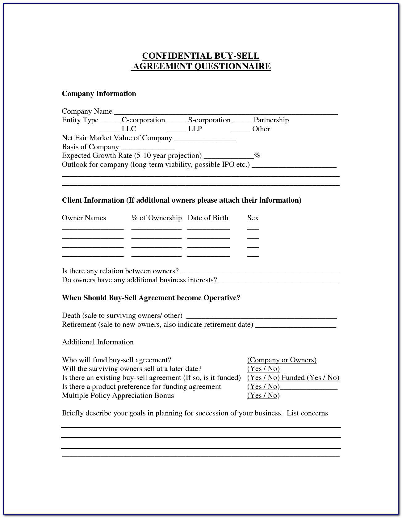 Simple Sale Agreement Sample