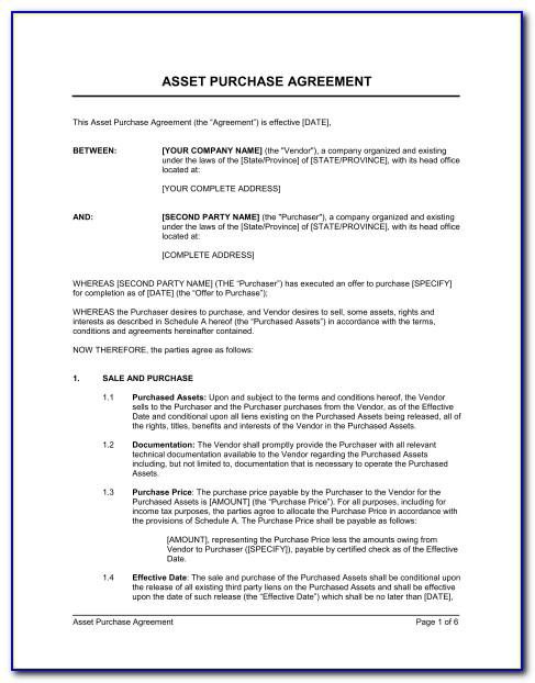 Simple Share Purchase Agreement Template Uk
