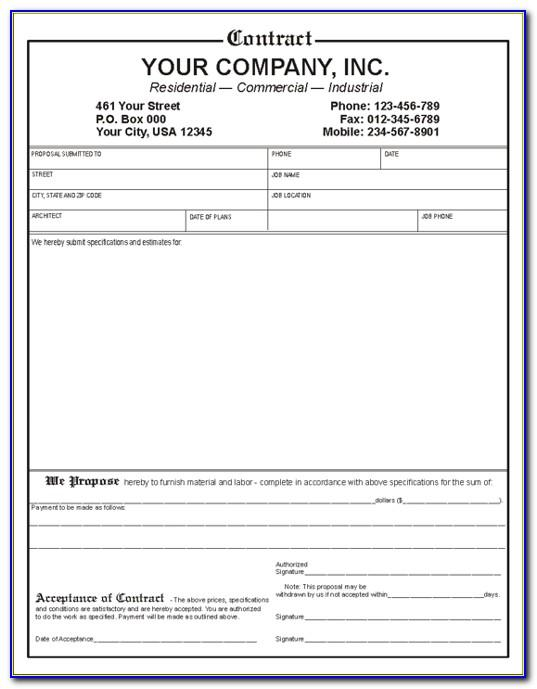 Small Business Contract Template Australia
