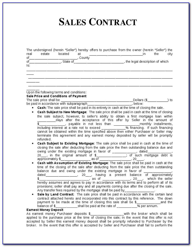 Small Business Contract Template Uk