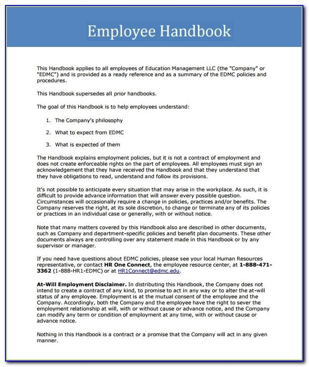 Small Business Employee Contract Template