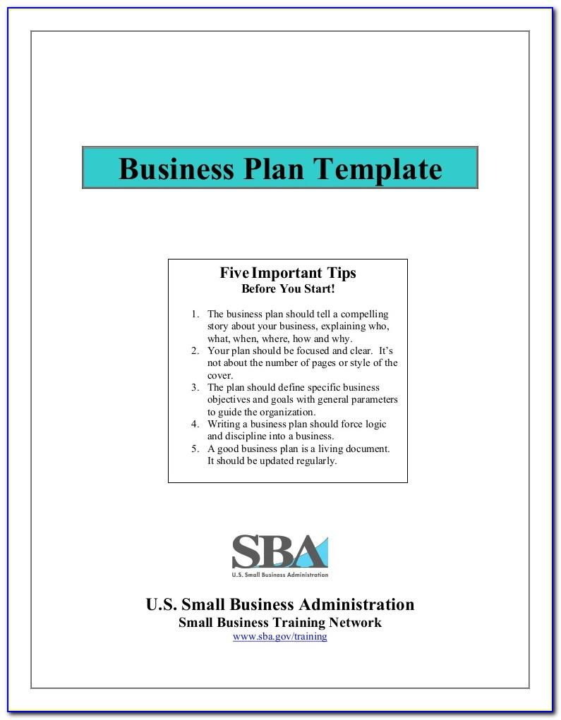 Small Business Financial Plan Template Excel
