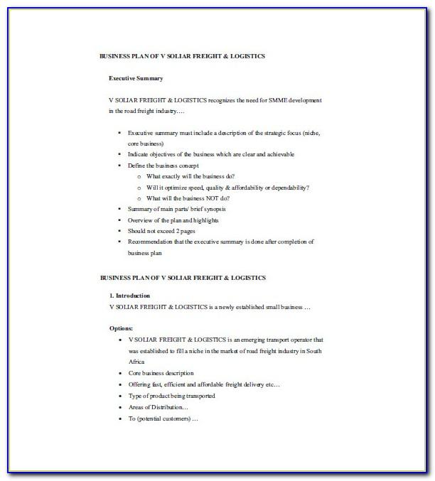 Small Business P&l Statement Template