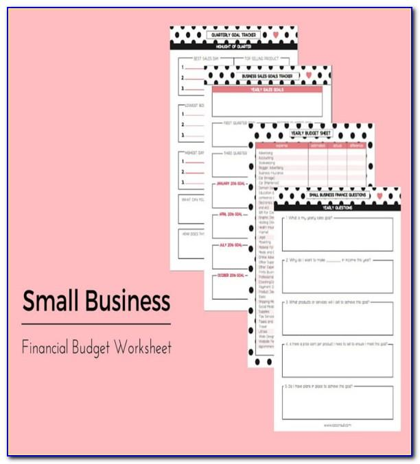 Small Business Tax Spreadsheet Template