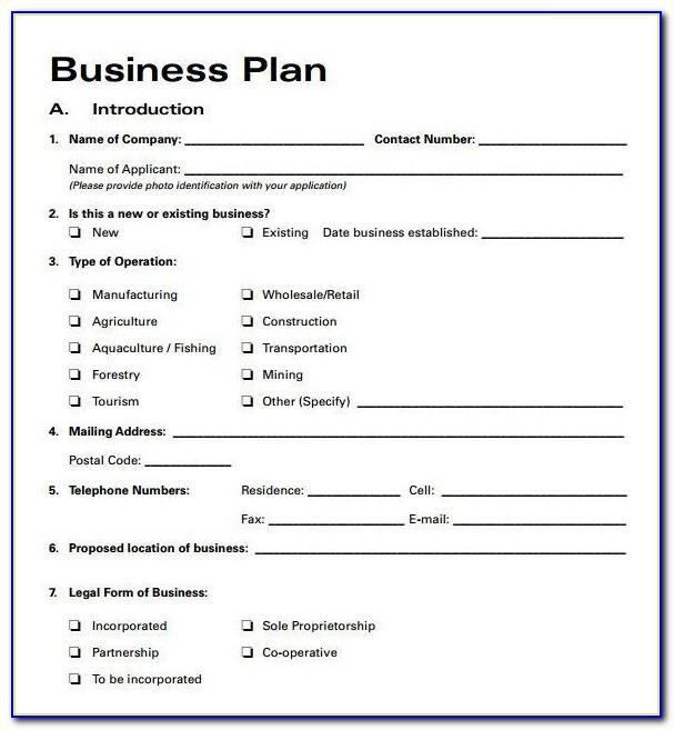 Small Hotel Business Plan Excel Template