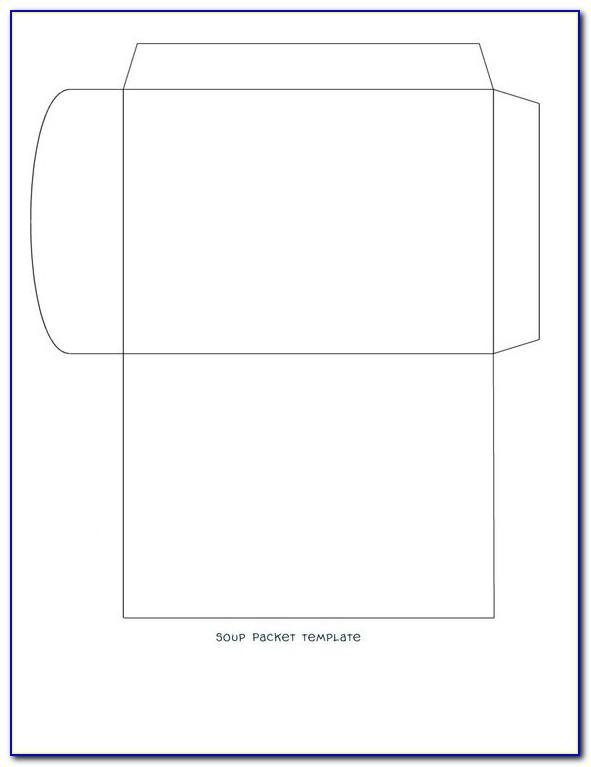 Small Seed Envelope Template