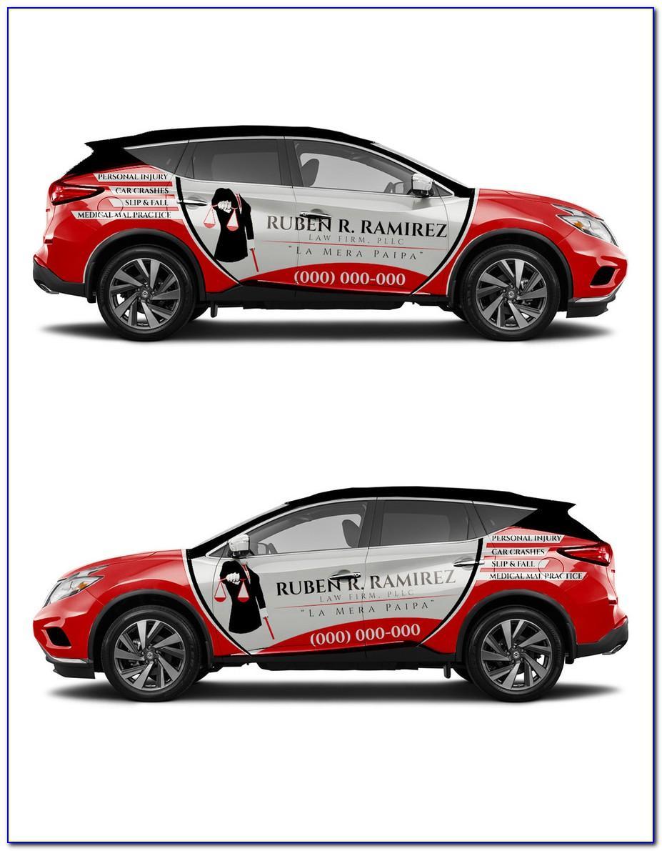 Smart Car Wrap Template Eps