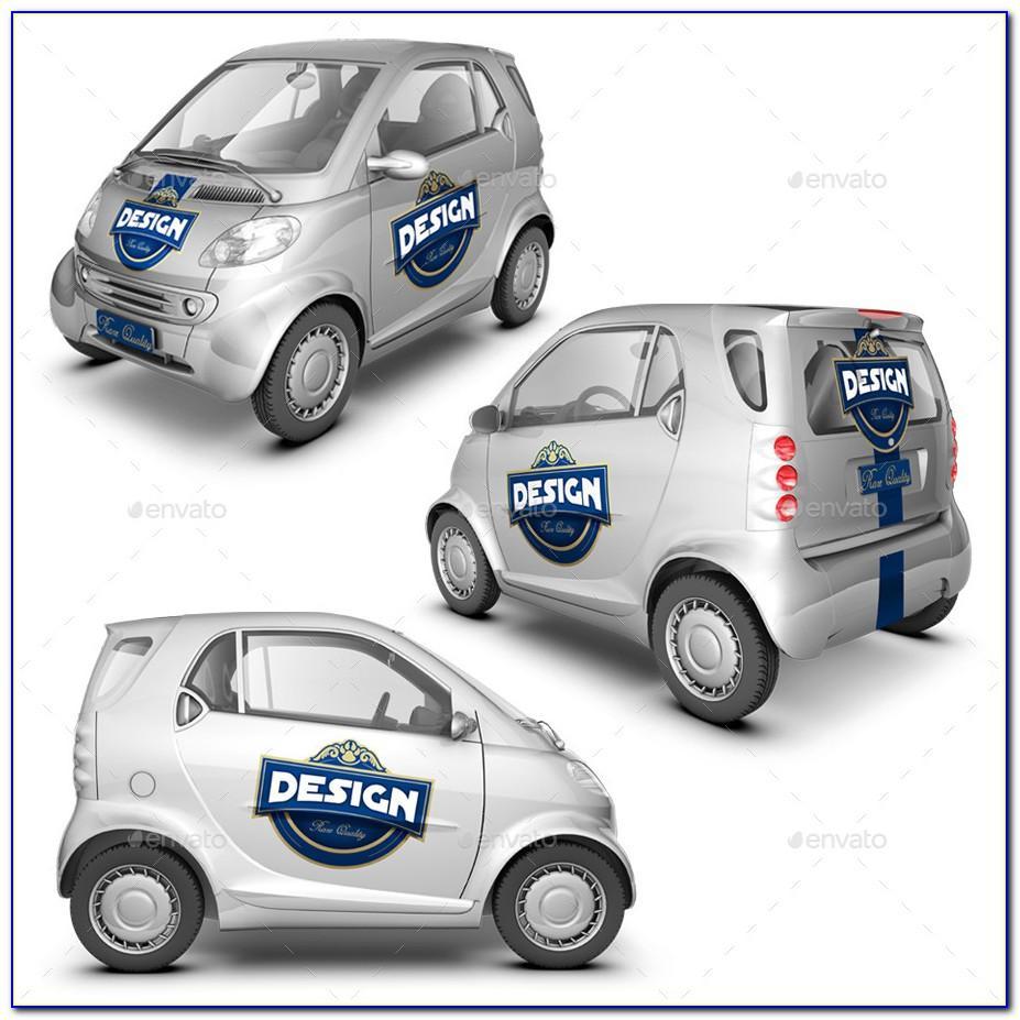 Smart Car Wrap Template
