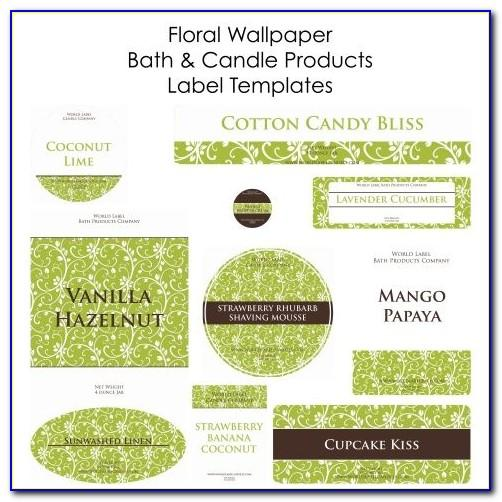 Soap Label Template Download