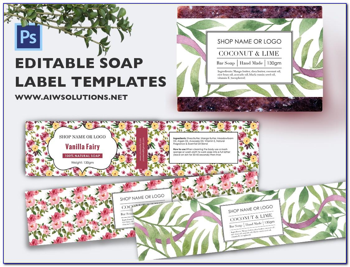 Soap Label Templates Free Download