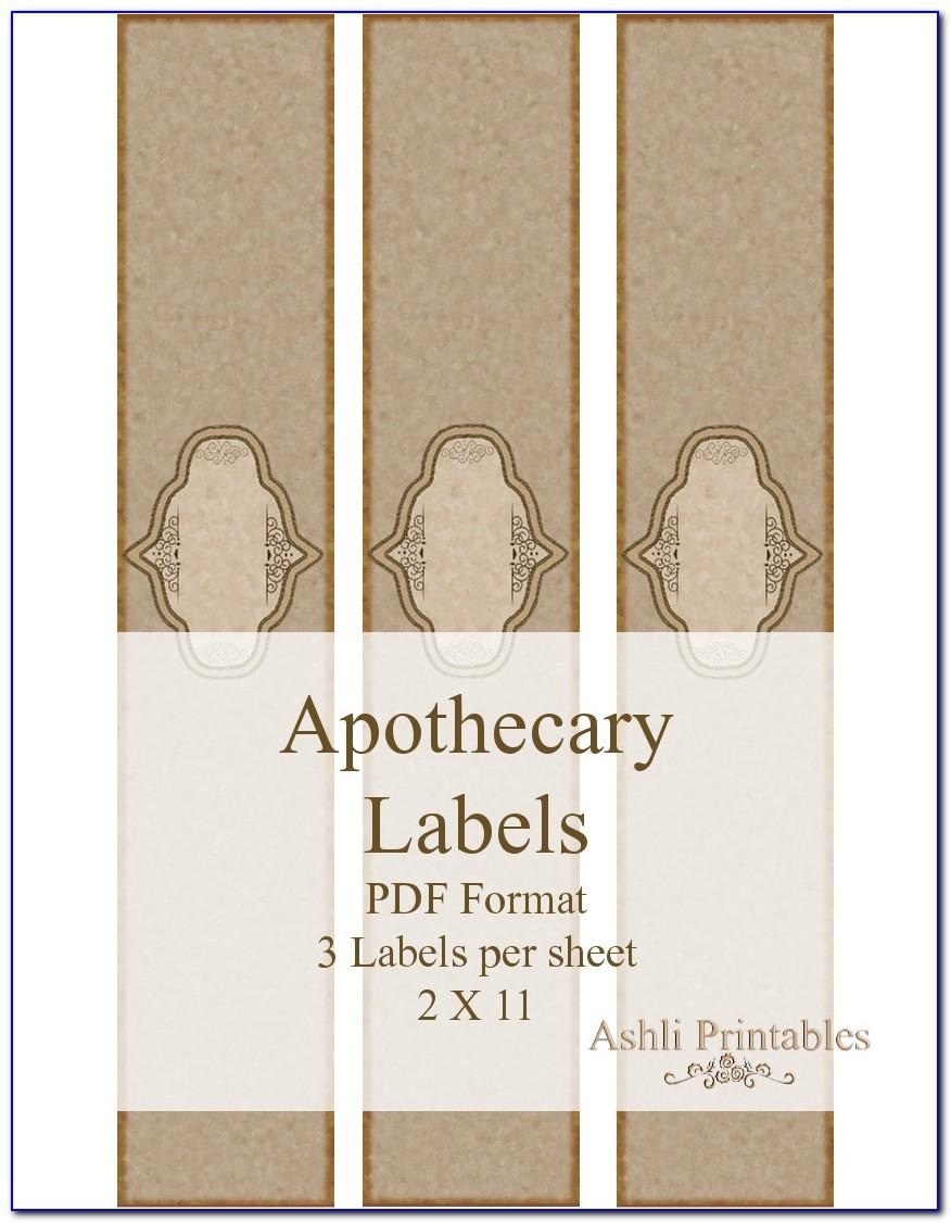 Soap Label Templates Mac