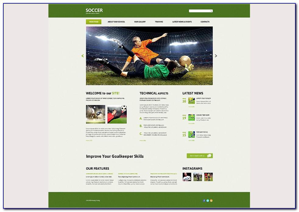 Soccer Team Recruiting Brochure Template