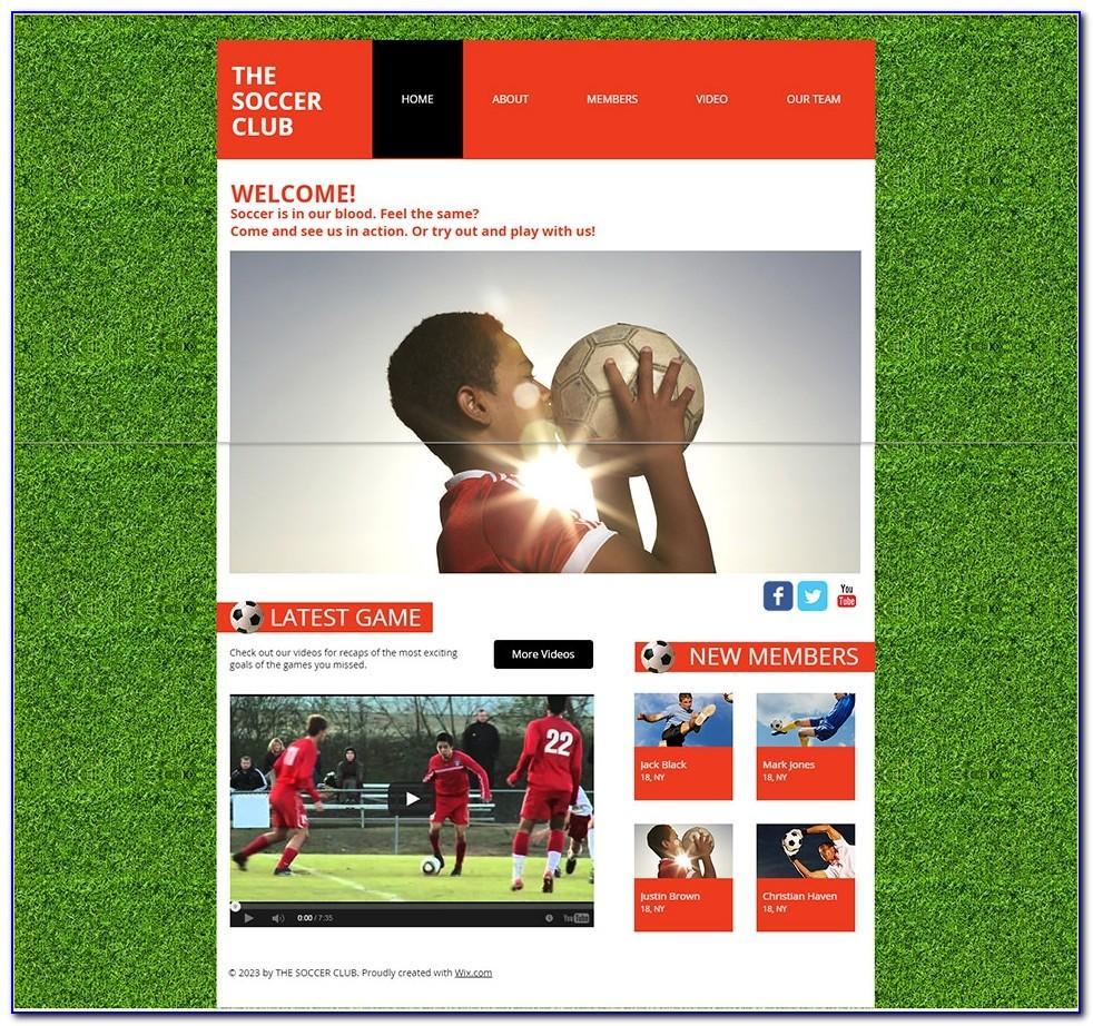 Soccer Tournament Invitation Template