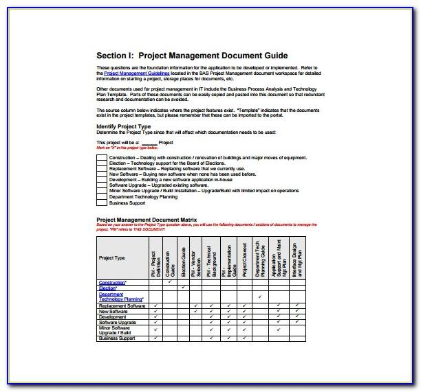 Software Implementation Project Plan Template Mpp