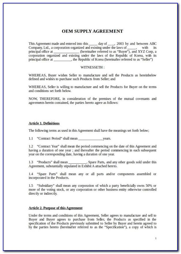 Software License Agreement Template Australia