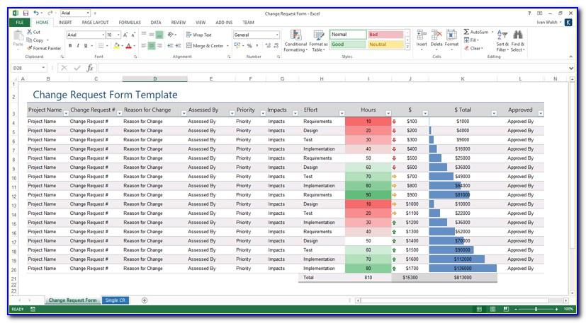 Software Testing Plan Template Excel