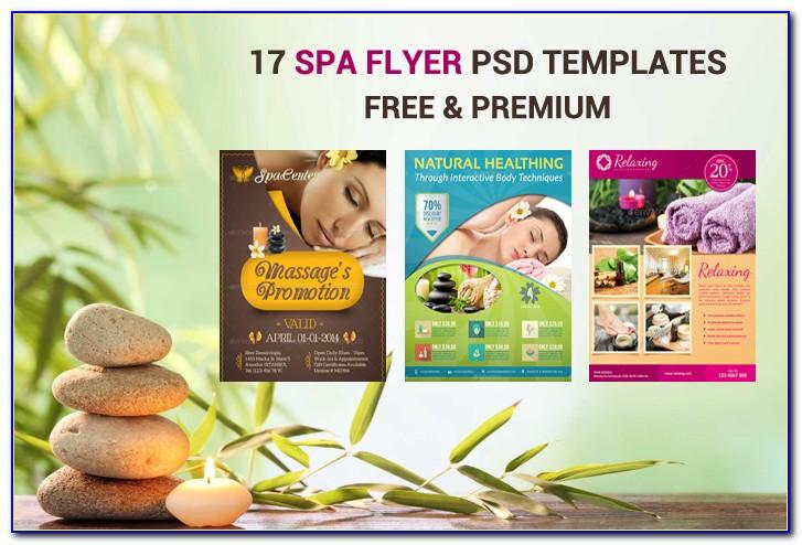Spa Brochure Design Templates Free