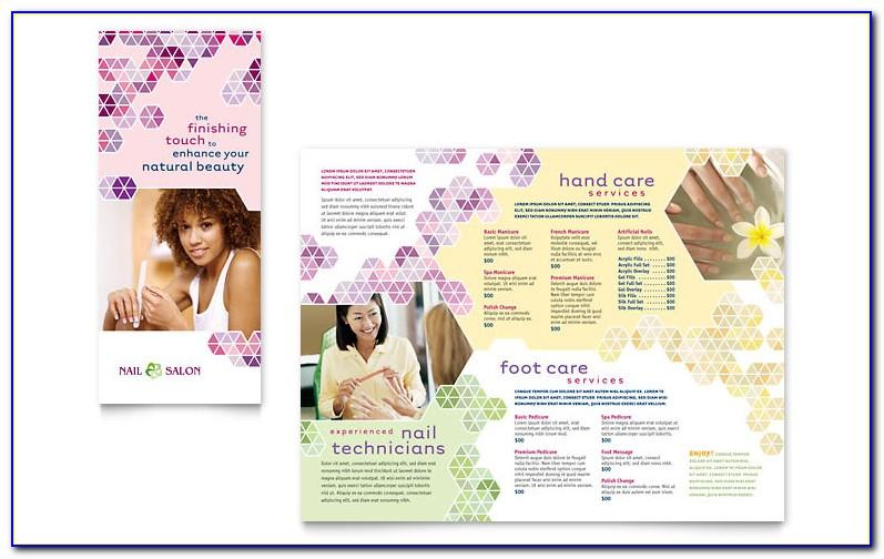 Spa Brochure Design Templates