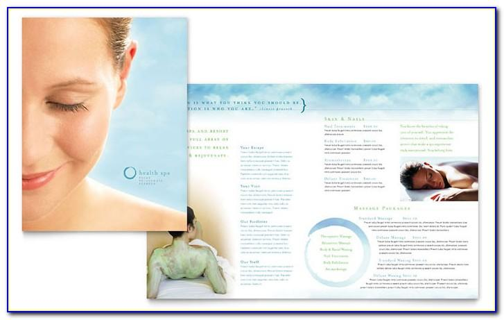 Spa Flyer Template Download