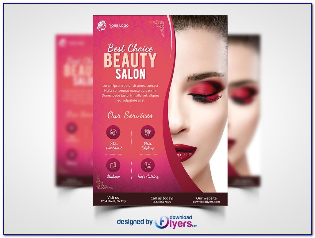 Spa Flyer Template Free