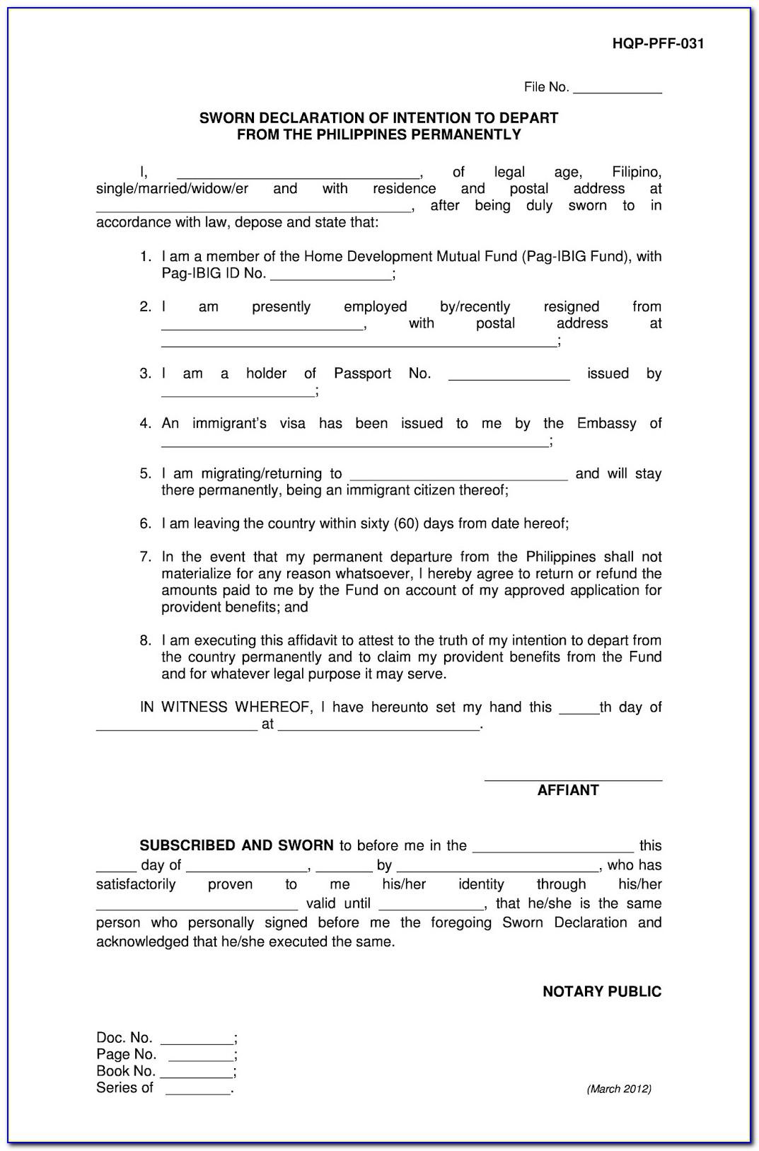 Special Power Of Attorney Form Doc