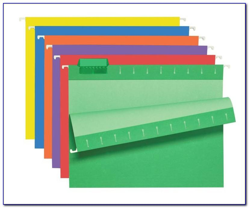Staples Hanging Folder Tab Template