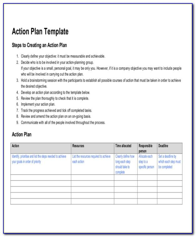 Strategic Life Plan Example