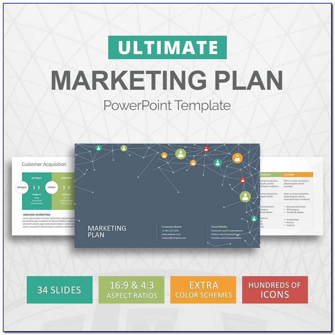 Strategic Marketing Plan Template Ppt