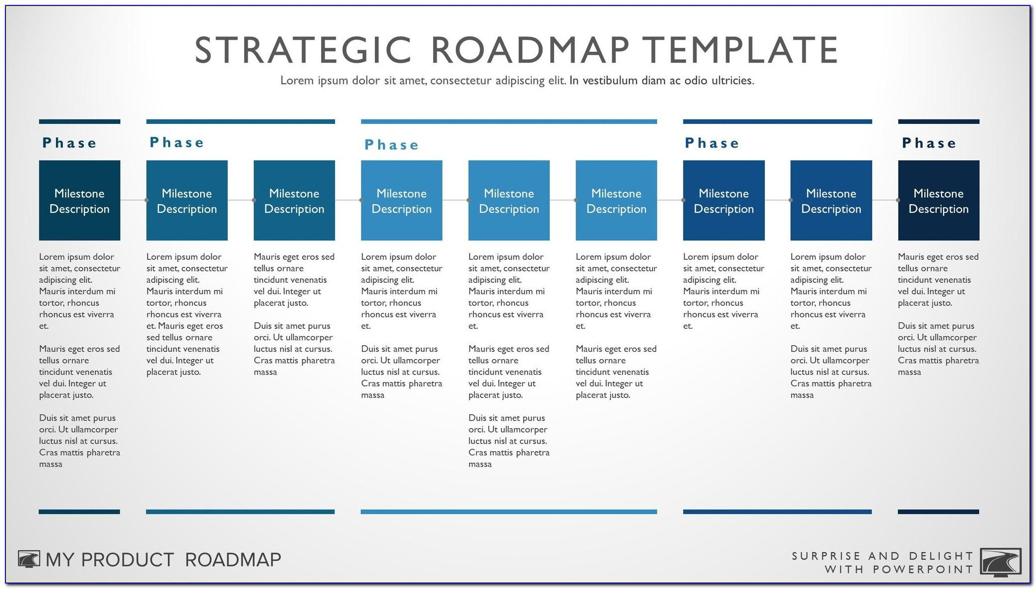 Strategic Plan Example Powerpoint