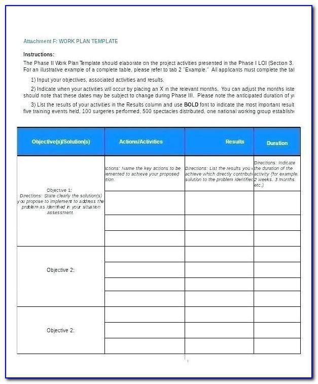 Strategic Workforce Planning Excel Template