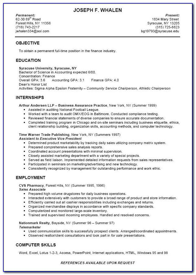 Student Nurse Resume Examples