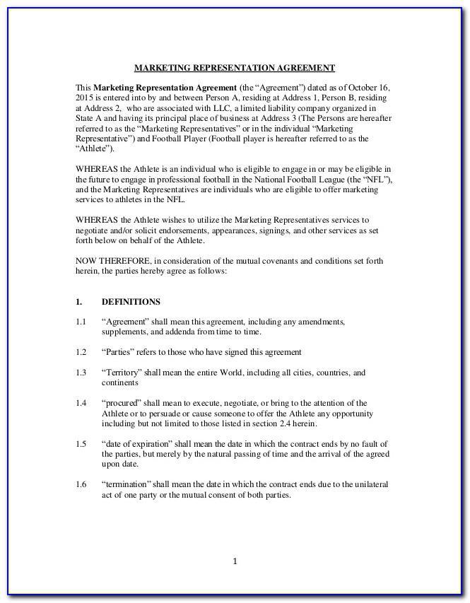 Subcontractor Agreement Sample Uk