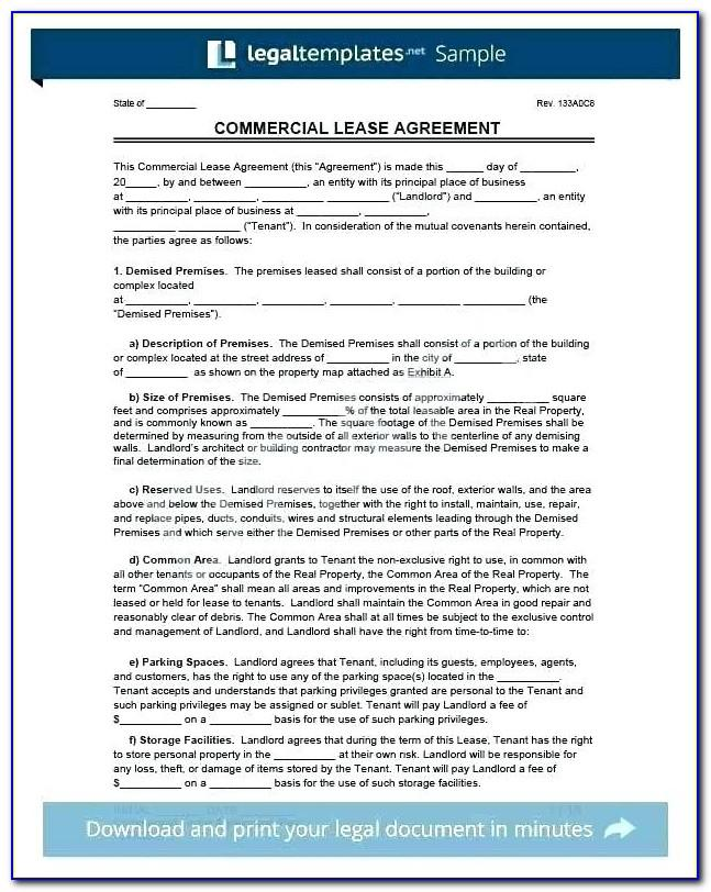 Sublet Agreement Template Word