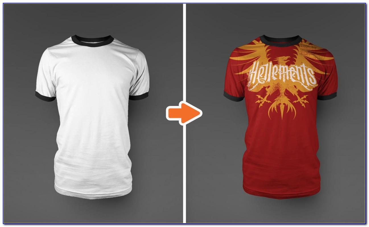T Shirt Mockup Photoshop Free