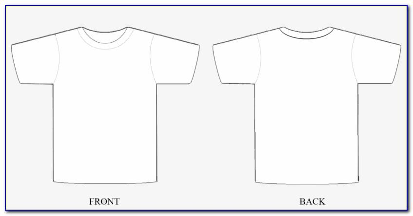 T Shirt Template Photoshop Download