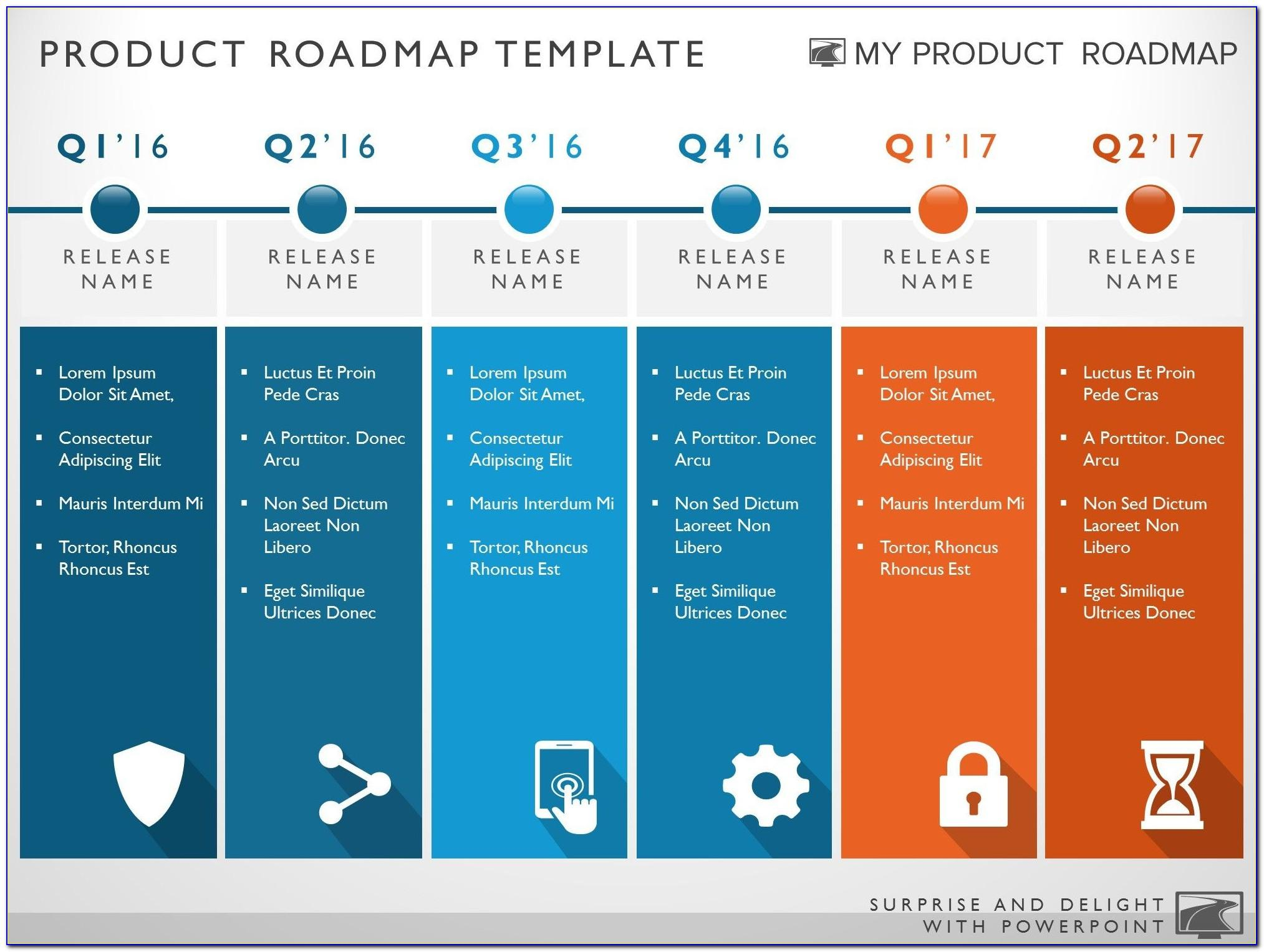 Technology Roadmap Excel Template
