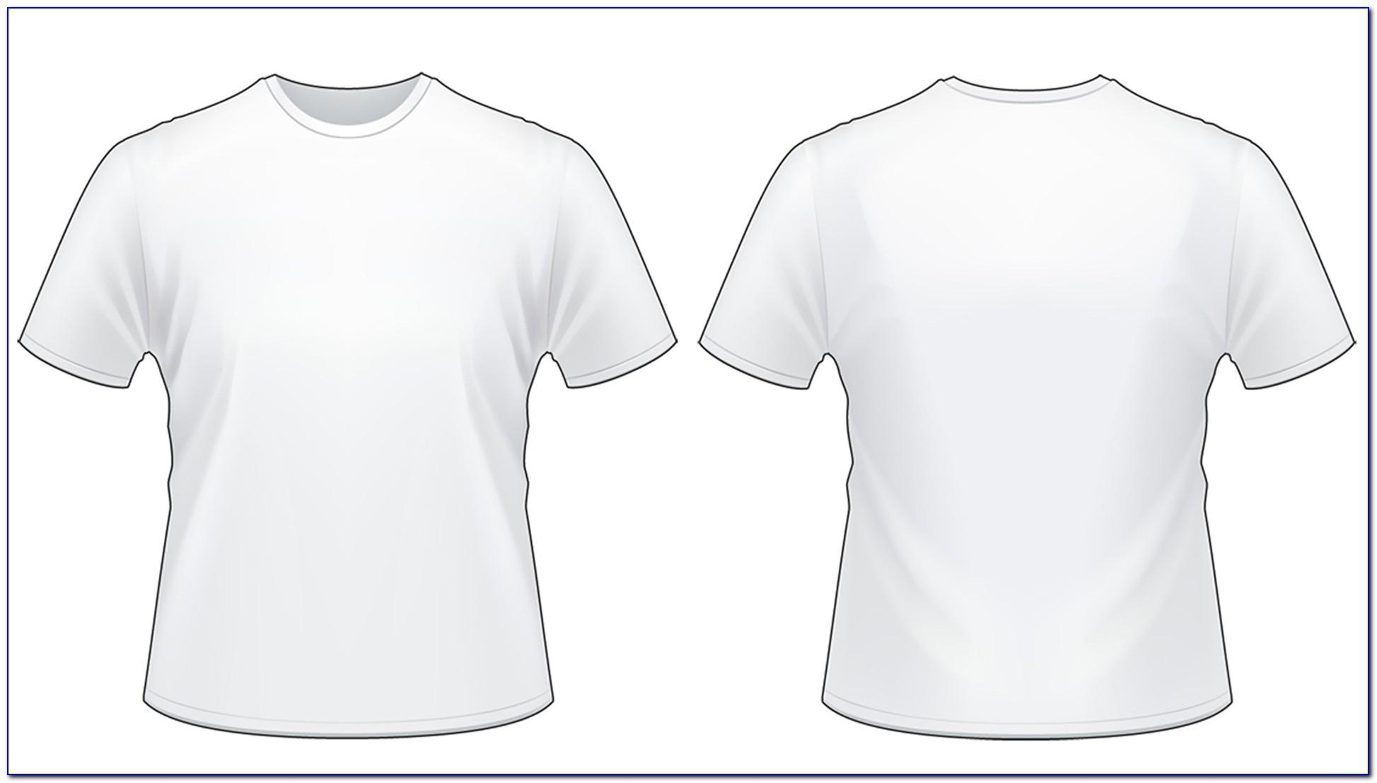Tee Shirt Template Photoshop