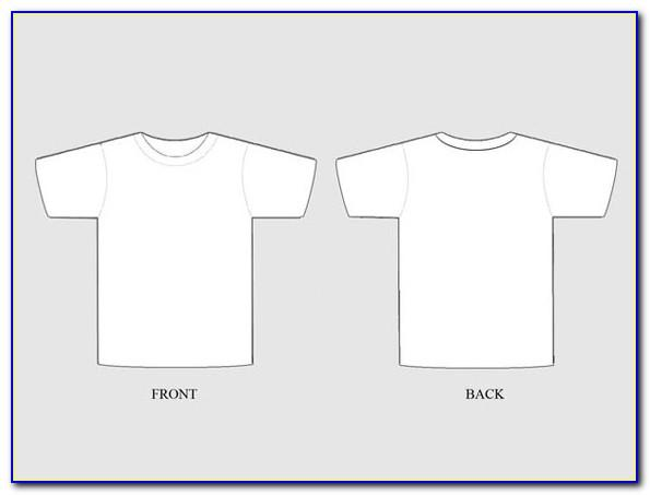 Template T Shirt Photoshop