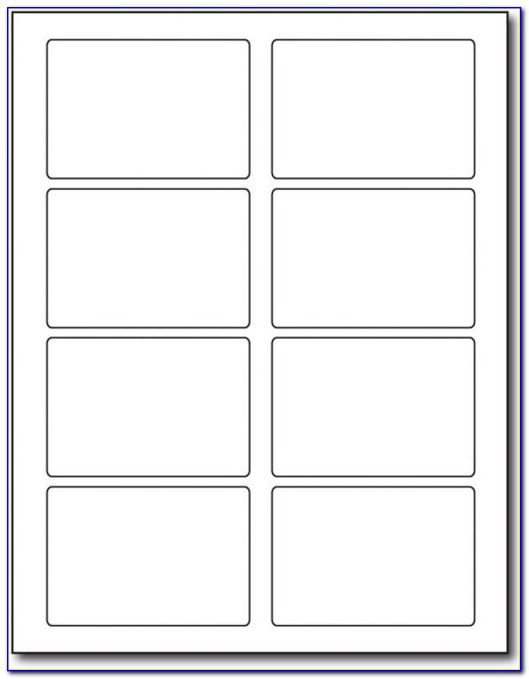 A4 Labels 18 Per Sheet Template