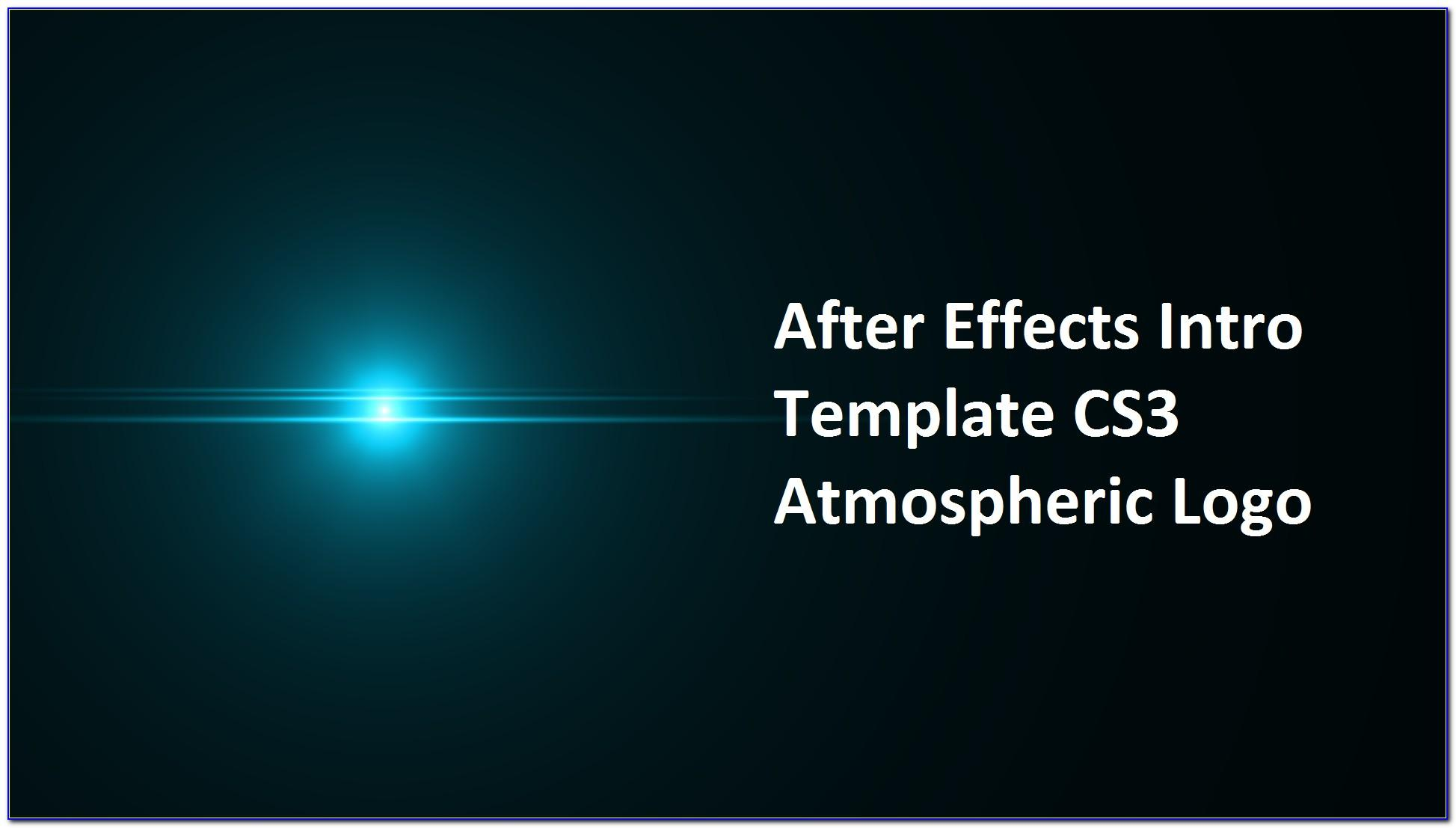 Adobe After Effects Cs3 Intro Templates Free Download