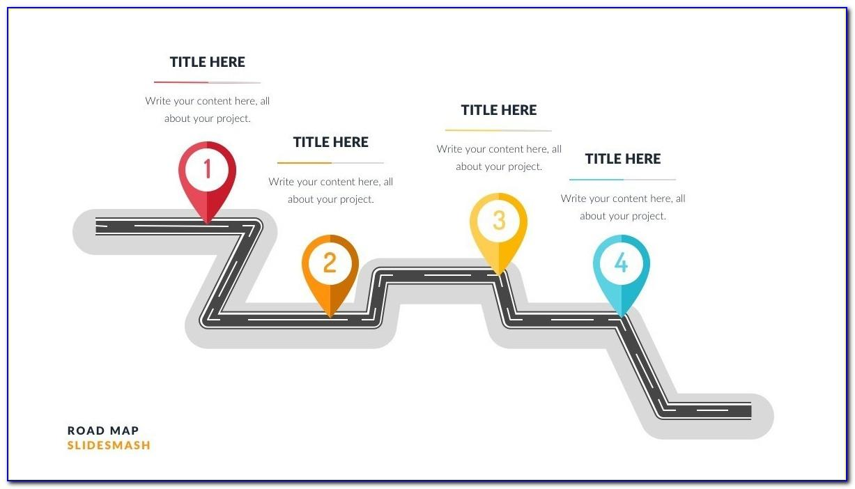Animated Powerpoint Roadmap Presentation Template
