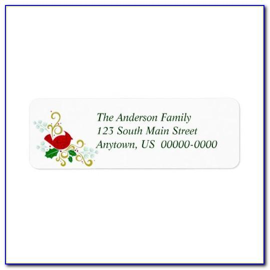 Avery Return Address Labels Template 5167