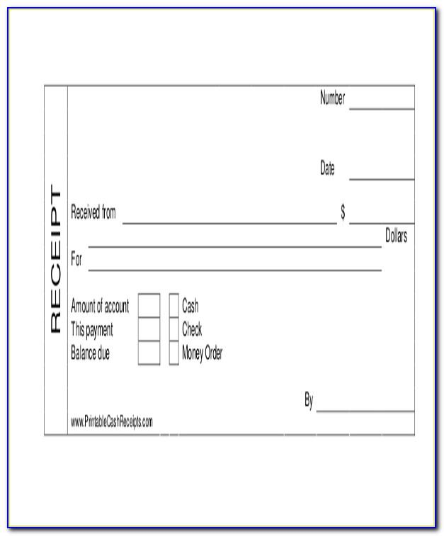 Car Sale Receipt Template Excel