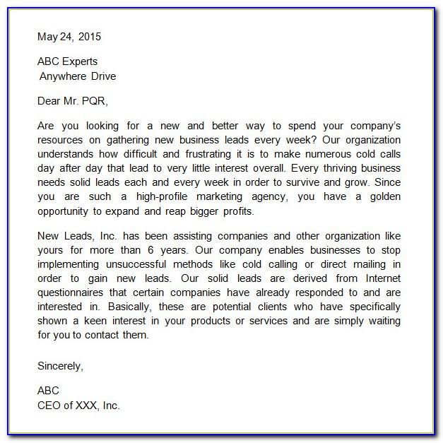 Car Sales Prospecting Email Template