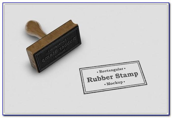 Company Rubber Stamp Template Free Download