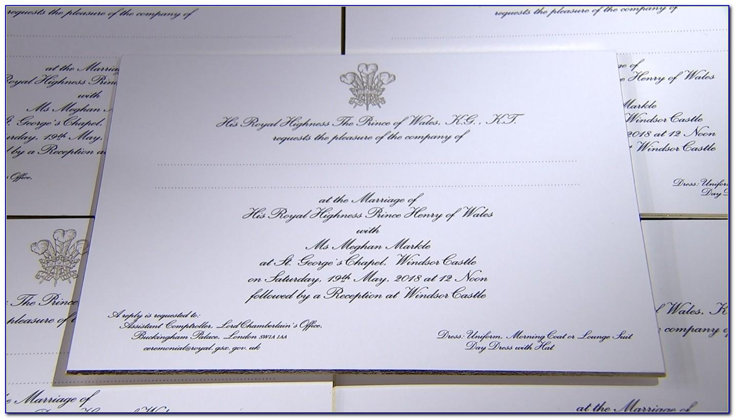 Download Royal Wedding Invitation Cards